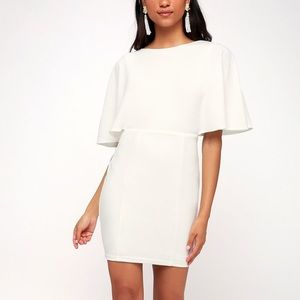 NWT✨ White Here's To You Lulus Dress